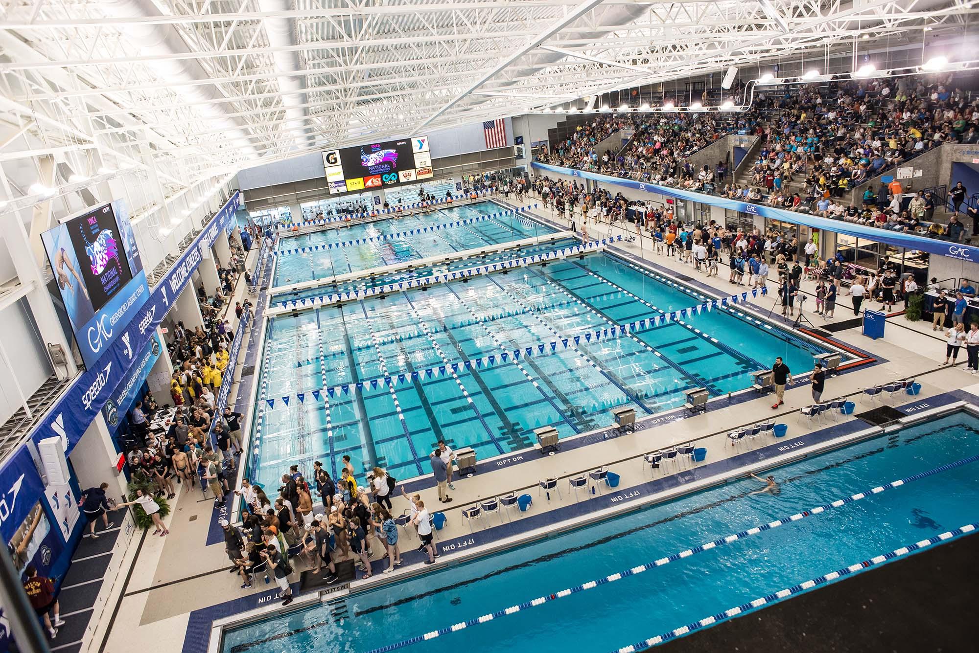 Greensboro Aquatic Center, State of the art Aquatic Facility