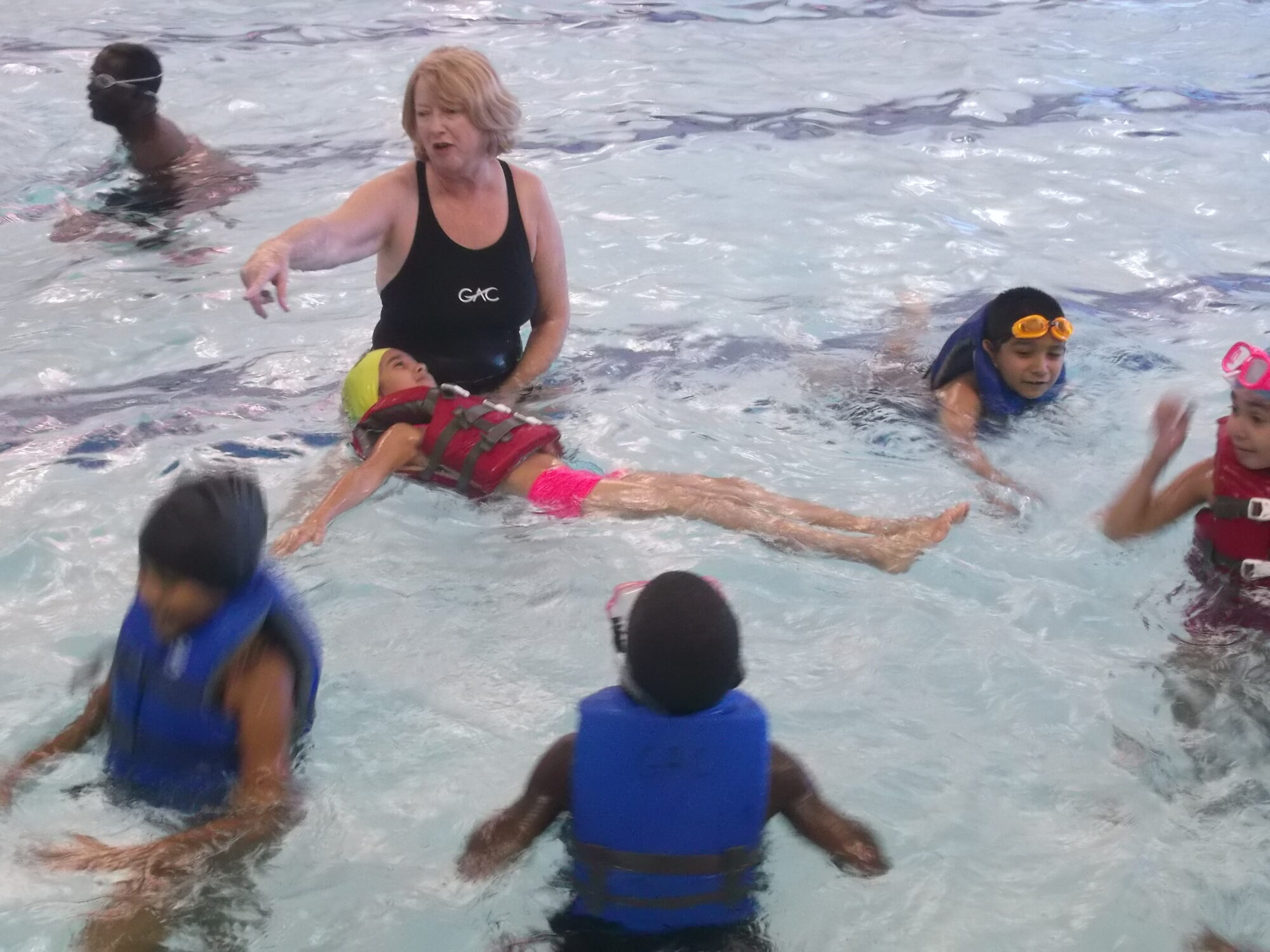 greensboro aquatic center swim lessons